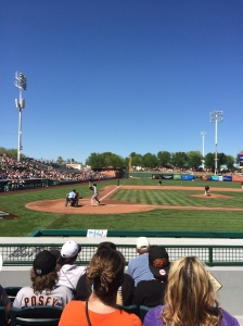 Giants vs. Giants Futures at Scottsdale Stadium
