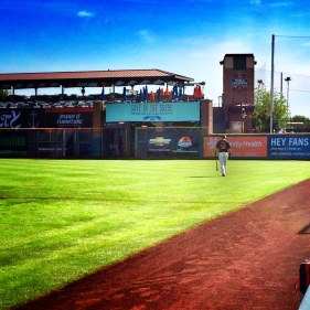 Joe Panik walks to batting cage at Scottsdale Stadium
