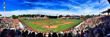 Giants vs Dodgers, Scottsdale Stadium