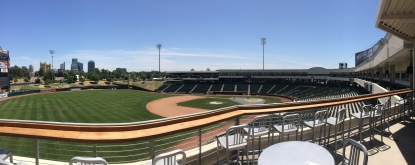 View of Raley Field from the Western Health Advantage Legacy Club